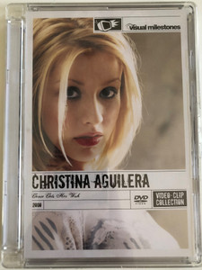 Christina Aguilera - Genie Gets Her Wish DVD 2000 Video-Clip Collection / Visual Milestones / Rare, candid intimate portrait of the singer / Sony Music - RCA (886974638797)