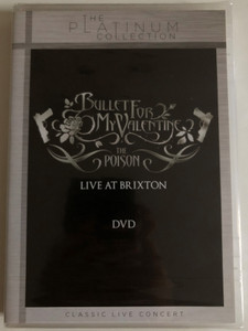 Bullet for my Valentine - The Poison DVD Live at Brixton / The Platinum Collection - Classic Live Concert / Sony Music (888837883597)