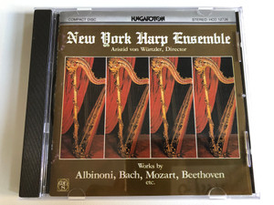 New York Harp Ensemble - Aristid von Würtzler, Director / Works By Albinoni, Bach, Mozart, Beethoven Etc. / Hungaroton Audio CD 1985 Stereo / HCD 12726