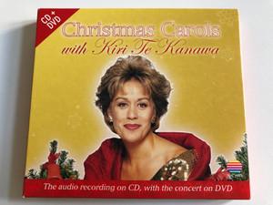 Christmas Carols with Kiri Te Kanawa / The audio recording on CD, with the concert on DVD / Warner Classic Audio CD + DVD CD 2004 / 50-518650347-2-8