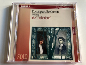 """Kocsis plays Beethoven including the """"Pathétique"""" / 70 min + / Philips Audio CD 1994 / 442 405-2"""