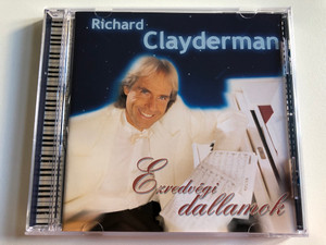 Richard Clayderman - Ezredvegi dallamok / Universal Music Audio CD 1999 / 068 358-2