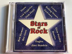 Stars Of Rock / Doors, Led Zeppelin, Pink Floyd, Rod Stewart, Bee Gees, Eagles, Jimi Hendrix, Cream, Rolling Stones, Santana, Elvis Presley, Beatles / Ring Audio CD / RCD 1053