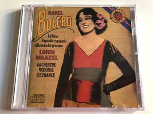 Ravel: Boléro - La valse, Rapsodie Espagnole, Alborada Del Gracioso / Lorin Maazel, Orchestre National De France / CBS Masterworks Audio CD Stereo / MK 37289