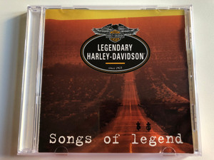 Legendary Harley-Davidson (since 1903) - Songs Of Legend / Musiques & Solutions Audio CD 1998 / 7258