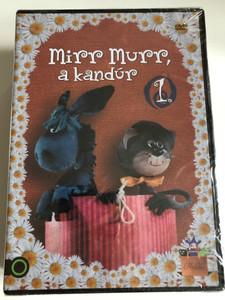 Mirr Murr a kandúr - 4 DVD Mirr Murr the Tomcat - Hungarian puppet cartoon DVD pack / Directed by Foky Ottó / Narrator - Mesélő: Halász Judit / Written by - Írta Csukás István (5999860186076)