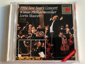 1994 New Year's Concert - Wiener Philharmoniker - Lorin Maazel / Sony Classical Audio CD 1994 / CL 312447 7