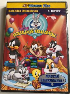 Baby Looney Tunes DVD 2001 Baby Bolondos Dallamok / Directed by Jeffrey Gatrall / Bolondos játszótársak 1. Kötet / 4 episodes on disc (5999048912046)