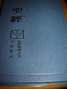 Taiwanese Bible with Pin Yin / New Revised Standard Version 2009