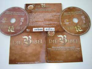 German Bible Reading selections on 2 MP3 Discs Old and New Testament