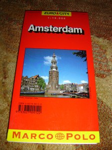 Amsterdam City Map 1:15.000 / Marco Polo Euro City Maps