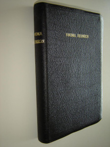 Fante Bible / Leather Bound, with Golden edges and thumb index 57TI