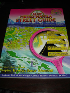 Metro Manila Street Guide / The BEST Street Map of Manila / 179 pagaes up-to-date maps