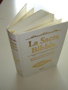 Italian Bible with the Illustrations of Gustave Dore - Golden Cross / La Sacra Bibbia