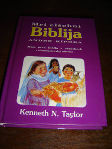 Slovak - Central Slovakian Romany Bilingual Children's Bible / Central Slovakian dialect of Romany (Gypsy)
