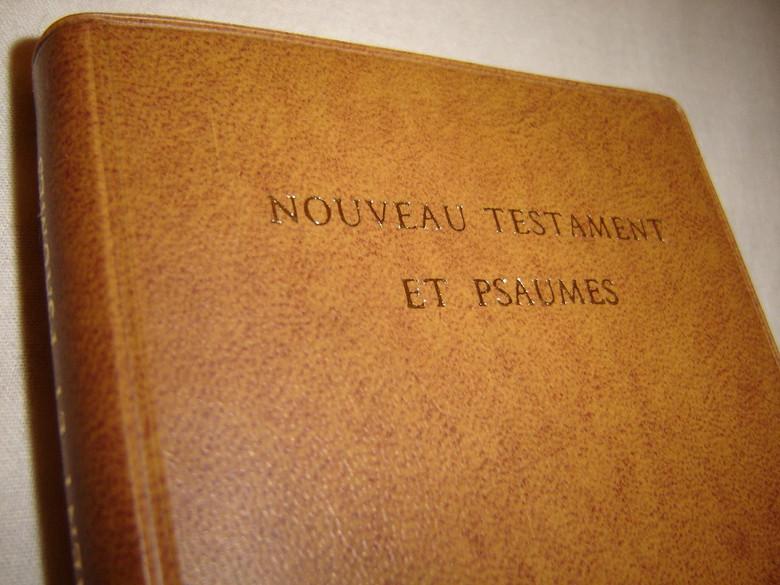 French Pocket New Testament and Psalms / Nouveau Testament Et Psaumes  / Nouvelle Version Segond Revisee avec references et vocabulaire SER332