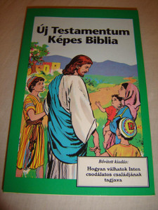 Hungarian Children's Comicstrip Picture New Testament / Új Testamentum Képes Biblia