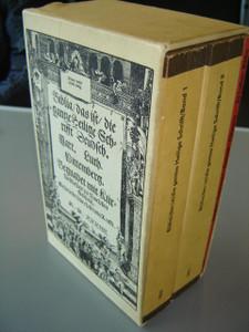Martin Luther Bible 1543 REPRINT / Faksimile-Ausgabe der ersten vollstandigen Lutherbible von 1534 in zwei Banden