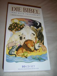 German Audio Bible Set for Children / The Old Testament / 10 CD Set Including Booklets with the Bible Stories