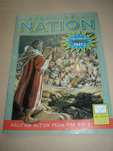 Moses BIRTH OF A NATION / The Story of Moses II - Father of A New Nation / English Bible Comic Book