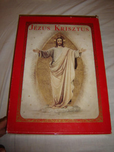 Didon Atya JEZUS KRISZTUS díszes magyar kiadás 20 rézmetszettel, 45 autotypiával / Originally printed in 1896 and this is the 1991 Huge REPRINT Limited Edition Nr.3847 / Padre Didon
