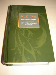 Indonesian - English Bilingual Bible / Indonesian Formal Translation - English NIV /  ALKITAB Terjemahan Baru ALK. TB/NIV 053 / Beautiful Dark Green Hardcover, Thumb Indexed