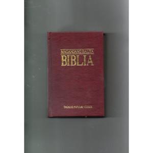 Magandang Balita Biblia (TPV-33) [Hardcover] by Philippine Bible Society