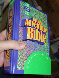 The New Adventure Bible: King James Version/Indexed [Hardcover]