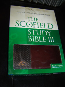 The Scofield Study Bible III, NASB: New American Standard Bible [Leather Bound]