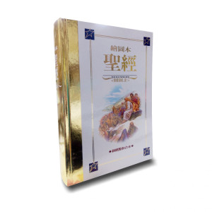 Chinese Childrens Illustrated Full Color Bible / Traditional Characters CUNPIB63A (Shen Edition) / 繪圖本聖經.硬面金邊.新標點和合本 / Jose Perez Montero