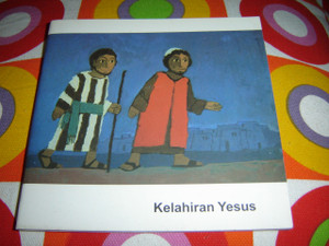 Christian Children's Bible Story Booklet in Indonesian Lanaguage / The Birth of Jesus / KELAHIRAN YESUS