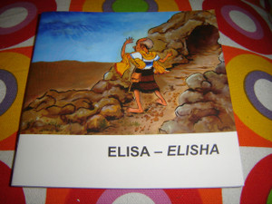 Christian Children's Bible Story Booklet in Indonesian - English / Bilingual Edition / The Story of ELISA - ELISHA