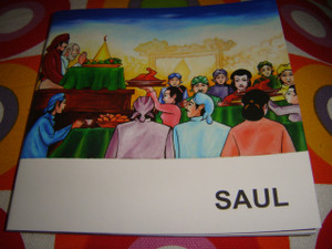 Christian Children's Bible Story Booklet in Indonesian - English / Bilingual Edition / SAUL (Old Testament)
