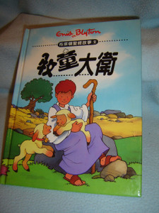 Chinese Language Children's Bible Story Book about David / David The Shepherd Boy / Enid Blyton Bible Stories Series 2