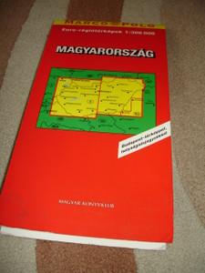 Hungary Road Map / Budapest City Map - Index of Place Names / Magyarország Autóstérkép