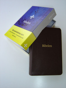 Norwegian Bible Brown Genuine Leather New Generation - Bibel 2011 ny oversettelse