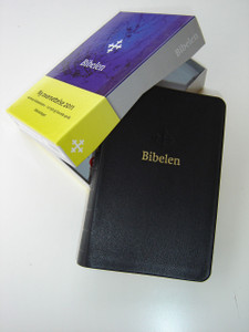 Norwegian Bible Black Genuine Leather New Generation - Bibel 2011 ny oversettelse