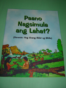 Tagalog Children's Bible GENESIS Portion 52 pages Color Illustrations