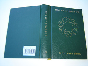 Norwegian Christian Church Hymnal with Notes GREEN COVER / NORSK SALMEBOK