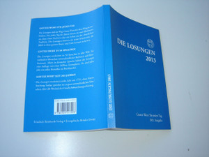 German 2013 Bible Reading Guide and Plan / Die Losungen der Herrnhuter