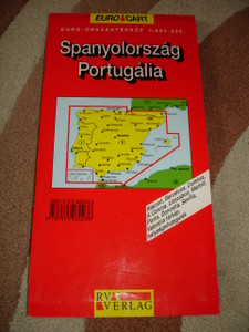 Spain and Portugal / Road Map with Index of Place Names / 1:800000