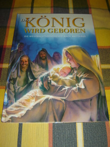 German Children's Bible Book / Der Konig Wird Geboren