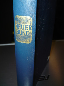 The Holy Scriptures of the New Covenant in German Language / Die Heilige Schrift des Neuen Bundes Herausgegeben von Pius Parsch