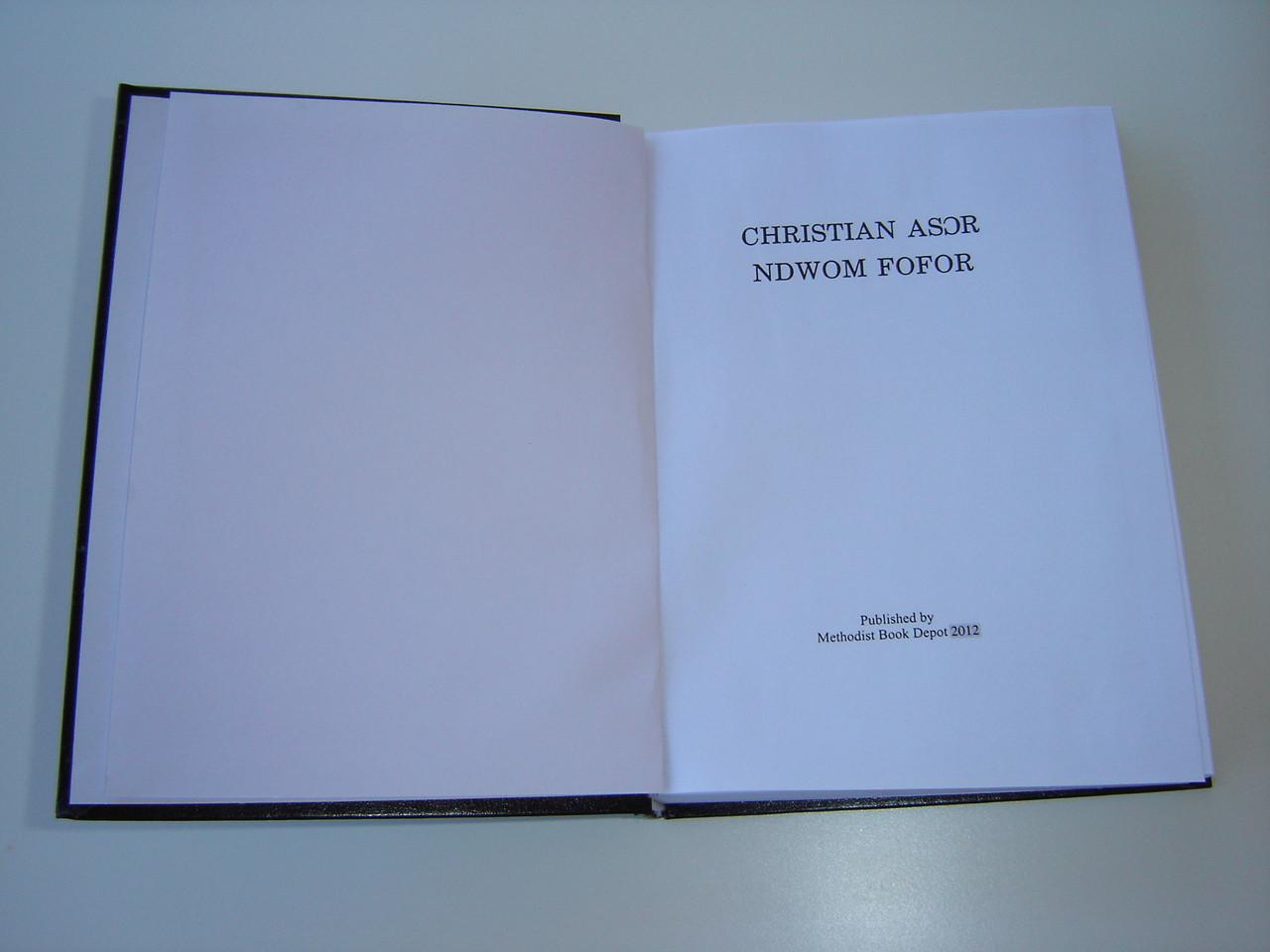 Book hymn fijian methodist