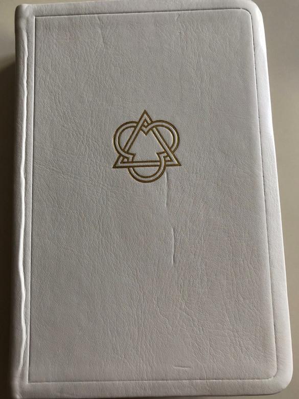 Icelandic Catholic Bible / Biblían / Gamla Testamentið ásamt Apókrýfu Bókunum Nýja Testamentið / With deuterocanonical books / White leather bound - Golden edges / Íslenska Biblíufélag (9789979798828)