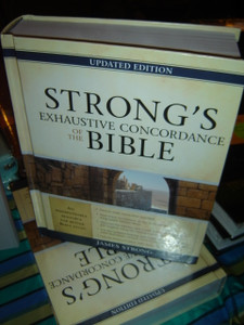 Strong's Exhaustive Concordance of the Bible (Facets) [Hardcover]