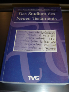 German Study New Testament - Introduction to the Methods of Exegesis