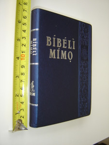 The Holy Bible in YORUBA Language with Silver Edges / BIBELI MIMO