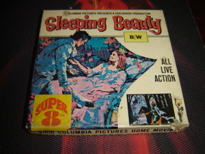 8 MM Home Movies / Sleeping Beauty All live Action / 1965 Columbia Pictures Presents / Super 8