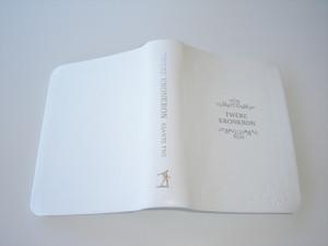 ASANTE TWI Bible / TWERE KRONKRON / White Leatherbound Bible with Silver Edges